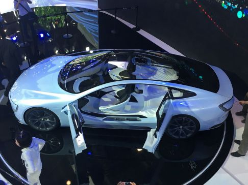 LeEco's LeSee is a prime example of an electric vehicle that will lead China into an autonomous future