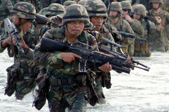 malaysian-soldiers