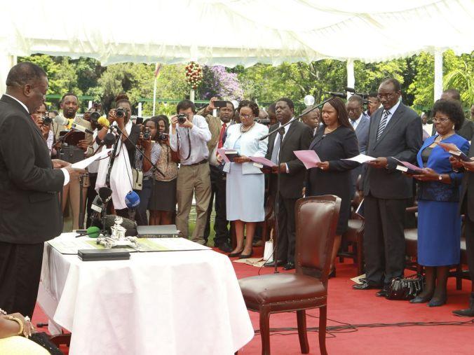 Zimbabwe New Cabinet