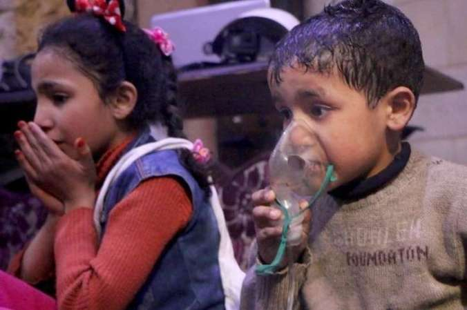 kids in syria